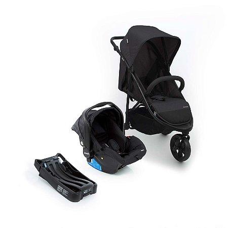 Travel System Collina Trio Black Style - Infanti