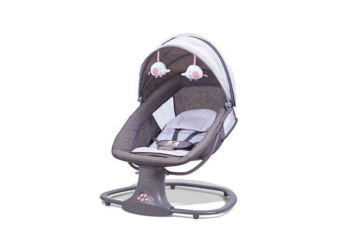 Cadeira Swing Automática com Bluetooth Rosa - Mastela