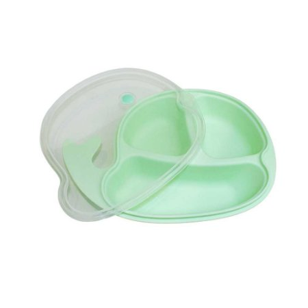 Prato Infantil Baleia Verde - Clingo