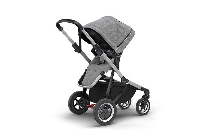 Carrinho de Bebê Gêmeos Sleek Grey Melange - Thule