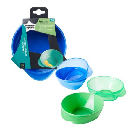Kit 4 Pratos Fundos Easy Scoop - Tommee Tippee