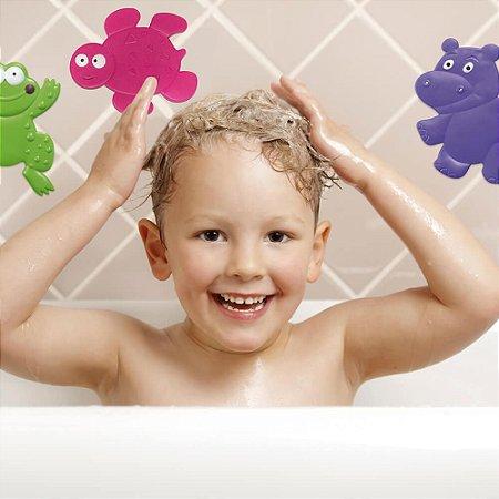 Mini Tapetes para Banho Bath and Fun - Multikids