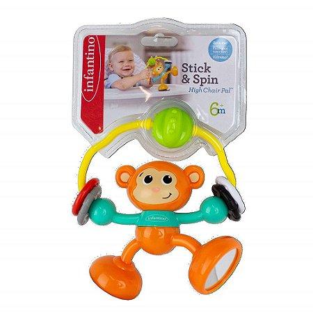 Macaco De Atividades Com Sucção Na Base - Infantino
