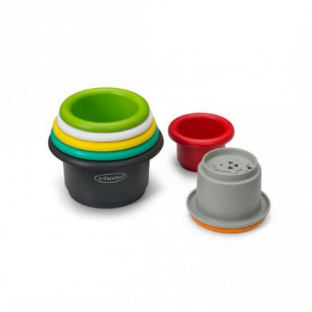 Brinquedo de Banho Copos Empilháveis - Infantino