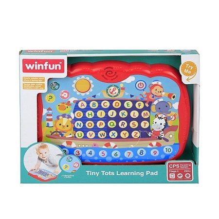 Tablet dos Pequenos Luz e Sons - Winfun