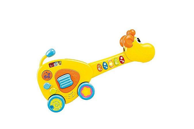 Guitarra Girafa 2 em 1 - Winfun