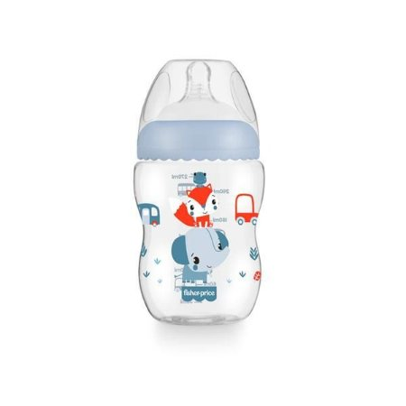 Mamadeira First Moments 2m+ Azul Marshmall - Fisher Price