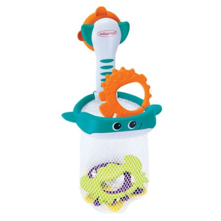 Brinquedo de Banho Pescaria no Oceano - Infantino