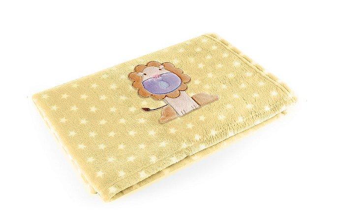 Manta Amarelo Leão - Baby Pil