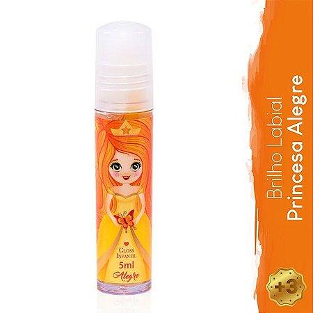 Gloss Infantil Princesa Alegre - Magia de Princesa