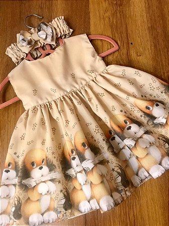 Vestido Baby Love Bear - Sweet Cotton