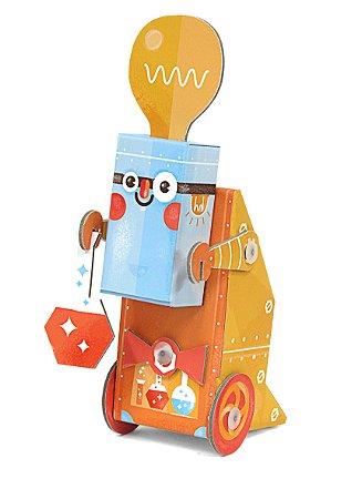 Robô de Montar Cientista - Krooom