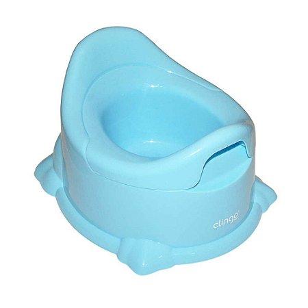 Troninho Penico Infantil Potty Azul - Clingo