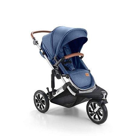 Carrinho de Bebê Jet 3 Rodas Azul - Litet