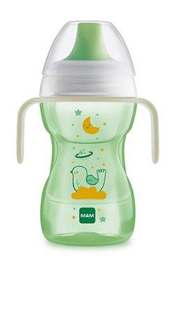 Copo Antivazamento Fun To Drink Night Verde Passarinho - Mam