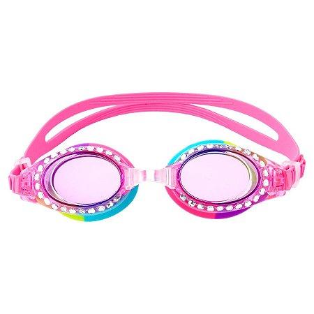 Óculos de Natação Brilho Rosa - Stephen Joseph