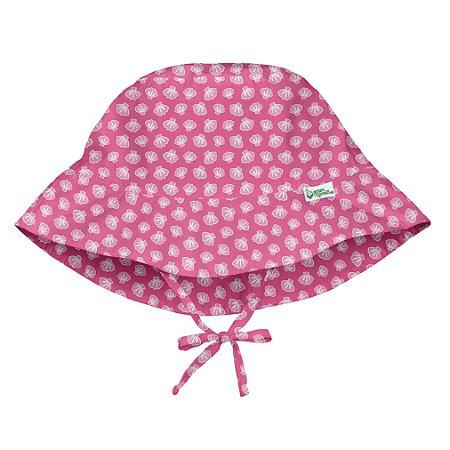 Chapéu Banho Conchinhas Pink 9 a 18 m - Iplay
