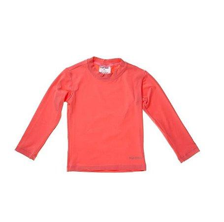 Camisa de Banho Manga Longa Coral 12 a 18 m - Iplay