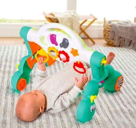 Andador Apoiador e Ginásio de Atividades 3 em 1 - Infantino