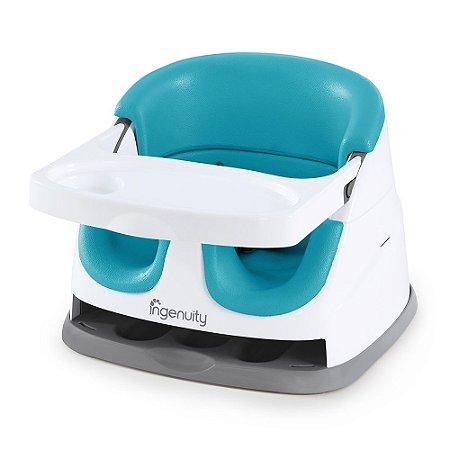 Cadeira de Alimentação Baby Base 2-IN Seat Peacock Blue - Ingenuity