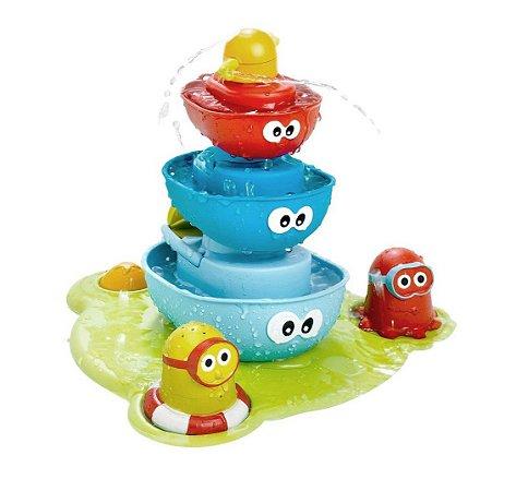 Brinquedo Fonte de Água Stack N Spray Tub Fountain - Yookidoo