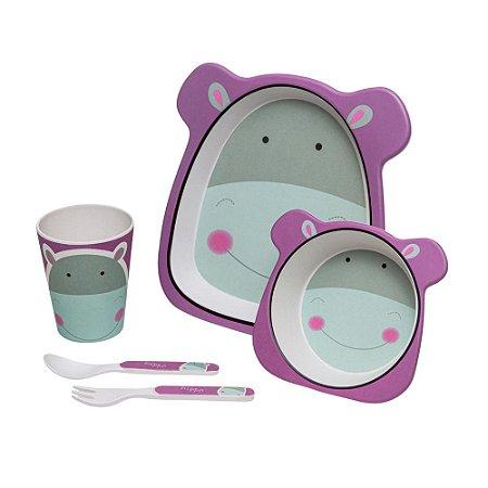 Conjunto de Alimentação Hipopótamo Eco - Girotondo