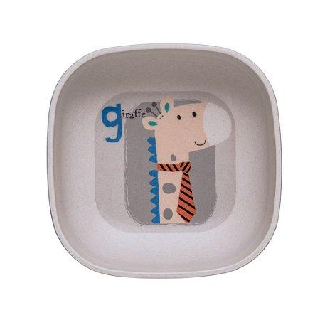 Tigela Girafa Letras Eco - Girotondo
