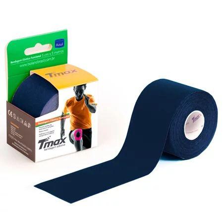 Fita Bandagem Kinesio Tape Azul Marinho - Tmax