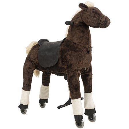 Montaria Cavalo Médio Marrom Uppi - Kiddo