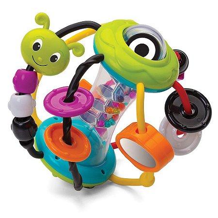 Brinquedo Interativo Bola de Atividade Lagarta - Infantino