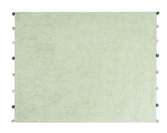 Tapete Pompon Verde - Nina & Co.