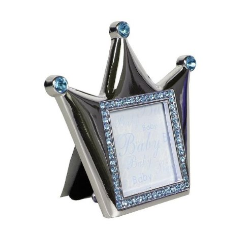 Porta Retrato Coroa Azul - Modali Baby