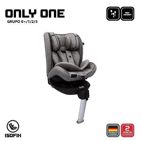 Cadeira para Auto Only One Isofix Grafite - ABC Design