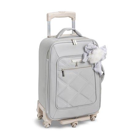 Mala de Rodinhas 1 Compartimento Urso Cinza - Masterbag Baby