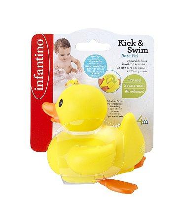 Brinquedo de Banho Patinho Flip - Infantino