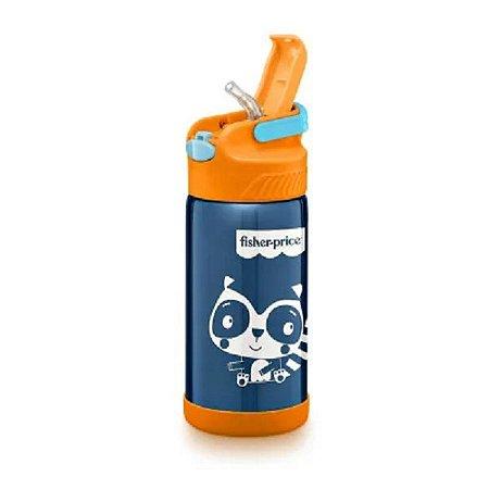 Copo Térmico Aço Inox Hot & Cold Azul - Fisher Price