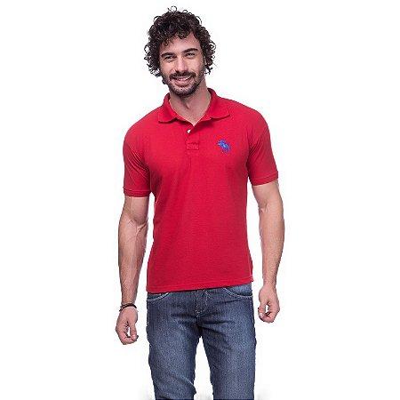 Camisa Gola Polo Abercrombie Vermelha - Loja na Grife 87b55912bef72