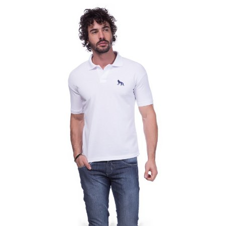 Camisa Gola Polo Acostamento Branca - Loja na Grife 576c6be498b5c