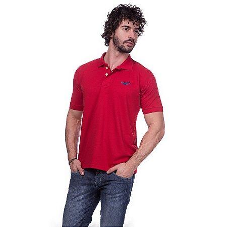 Camisa Gola Polo Hollister Vermelha - Loja na Grife 4fcdfc76a0069