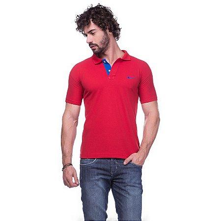 88eadac04c2d9 Camisa Gola Polo Nike Vermelha