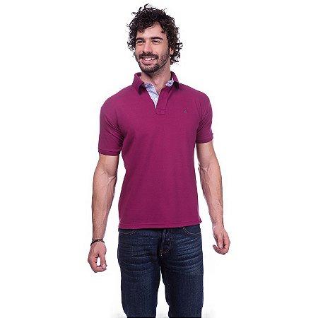 Camisa Gola Polo Tommy Bordô - Loja na Grife 64ccb5ea674e4