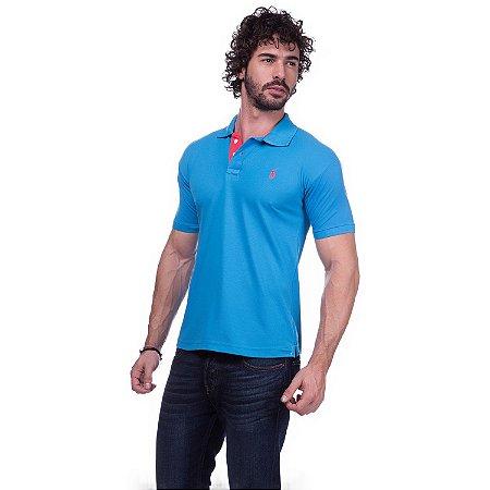 Camisa Gola Polo Ralph Lauren Executivo Azul - Loja na Grife 7a2fc005ecf5d