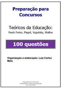 Simulado: 100 Questões Teóricos da Educação