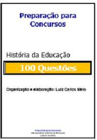 Simulado de 100 Questões  História da Educação