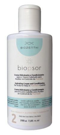 Creme Hidratante e Condicionante Biopsor p/ couro cabeludo - 200 ml
