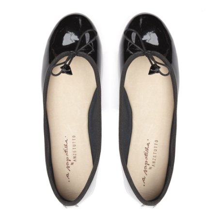 f30cf73051 Sapatilha Asapatilha Bailarina Preta Verniz - ASapatilha - Shoes ...