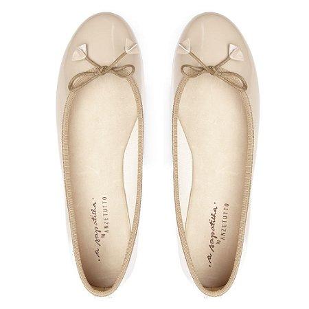65b66e80b2 Sapatilha Asapatilha Bailarina Verniz Vanilla - ASapatilha - Shoes ...