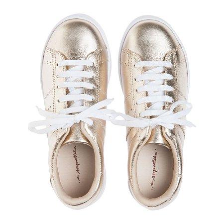 Sneaker Asapatilha  Dourado