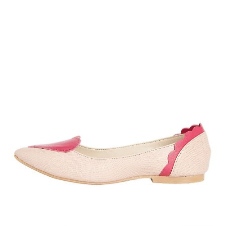 Sapatilha Ananás Coração Pink