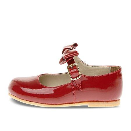 Sapato Asapatilha Mary Jane Vermelho